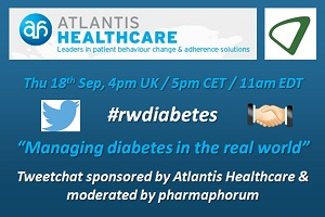 Atlantis Healthcare diabetes Tweetchat
