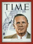 George Merck on the cover of Time magazine