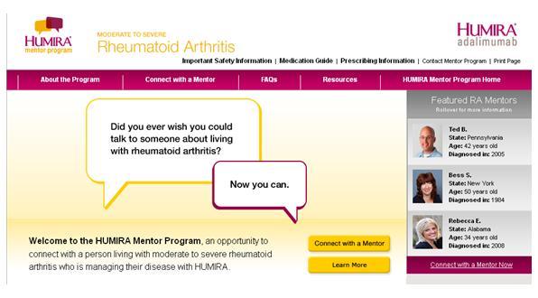 Humira mentor program