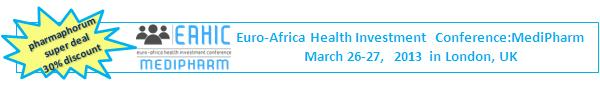 Euro-Africa health Investment - March 26-27 2013