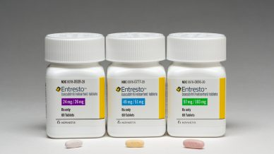 Entresto tops mainstay ACE inhibitor in heart failure trial
