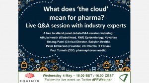 Available on demand: What does 'the cloud' mean for pharma?
