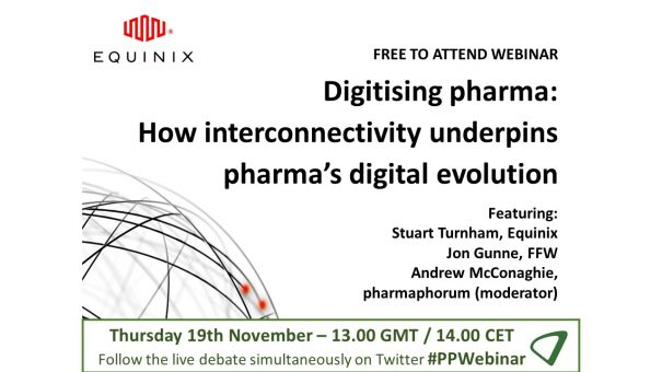 Available on demand: Digitising pharma – How interconnectivity underpins pharma's digital evolution