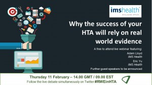 Available on demand: Why the success of your HTA will rely on real world evidence