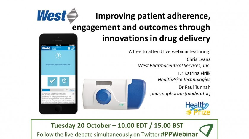 Available on demand: Improving patient adherence, engagement and outcomes through innovations in drug delivery