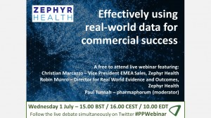 Available on demand: Effectively using real-world data for commercial success
