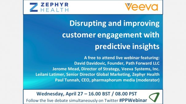 Available on demand: Disrupting and improving customer engagement with predictive insights