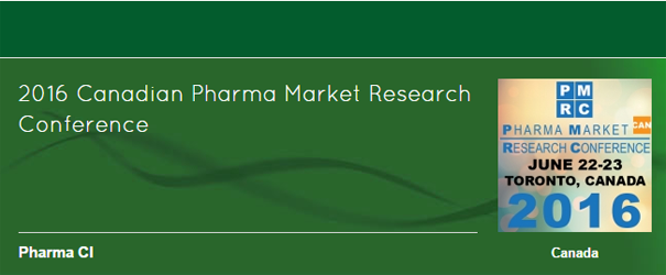 2016 Canadian Pharma Market Research Conference