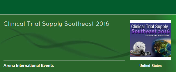 Clinical Trial Supply Southeast 2016