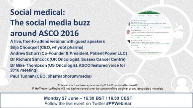 Social medical: The social media buzz around ASCO 2016