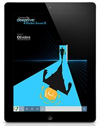 Deep Dive Market Access 2 publication on tablet device