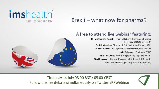 Brexit – What now for pharma?