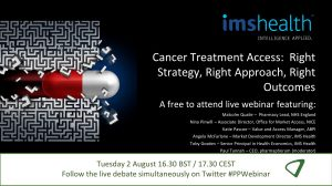 Available on demand: Cancer Treatment Access: Strategy, Approach, Outcomes