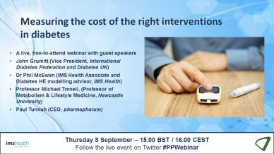 Measuring the cost of the right interventions in diabetes