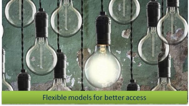 Flexible models for better access