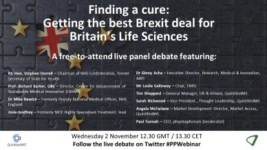 Finding a cure: Getting the best Brexit deal for Britain's life sciences