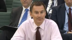 Hunt under pressure over plans to quit EMA