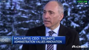 Don't cut prices, cut taxes, pharma CEO tells Trump