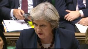Theresa May backtracks on 'Dementia tax'
