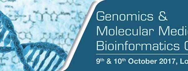 Genomics and Molecular Medicine – Bioinformatics Congress