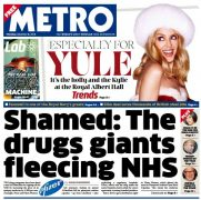 Pfizer's fine hit the UK headlines