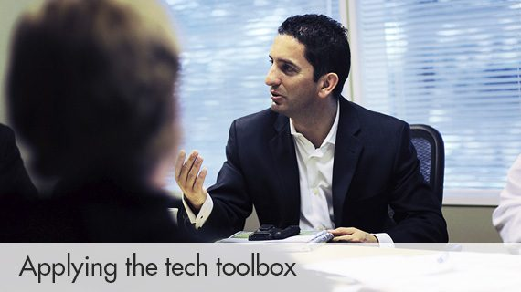 Applying the tech toolbox