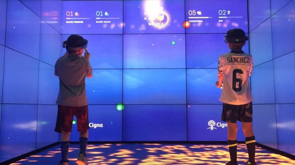 Microsoft's hologram-powered BioBall gamifies health screening