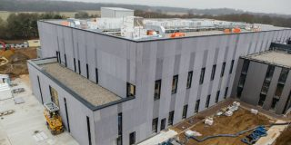 The Cell and Gene Therapy Catapult manufacturing centre, due to open in the summer. Photo: Innovate UK
