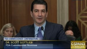Scott Gottlieb confirmed as FDA commissioner