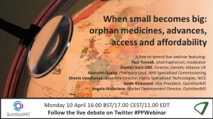When small becomes big: orphan medicines, advances, access and affordability