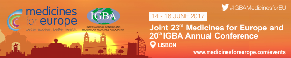Joint 23rd Medicines for Europe – 20th IGBA Annual Conference