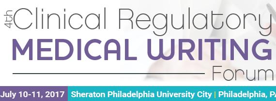 4th Clinical Regulatory Medical Writing Forum