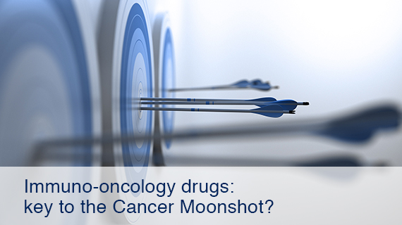 Immuno-oncology drugs: key to the Cancer Moonshot?
