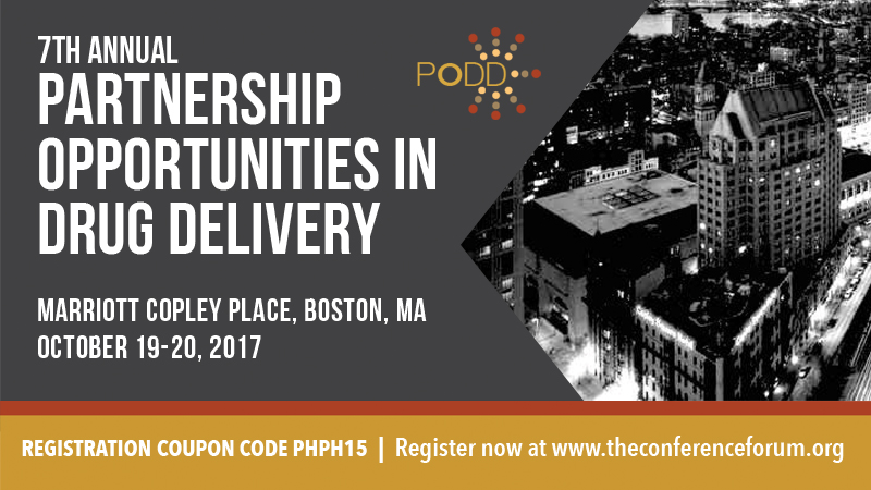 Partnership Opportunities in Drug Delivery (PODD) 2017