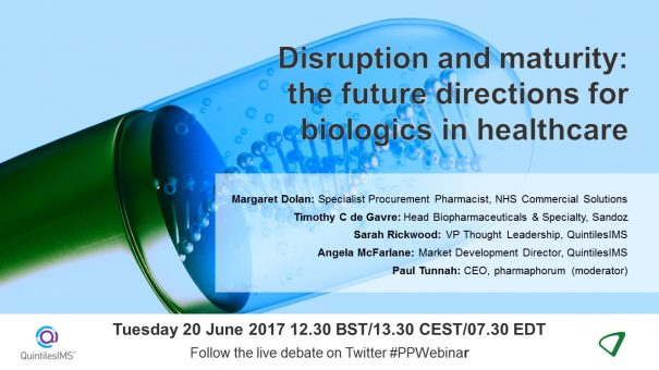 Disruption and maturity: the future directions for biologics