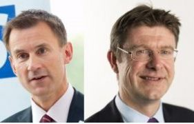 Jeremy Hunt and Greg Clark