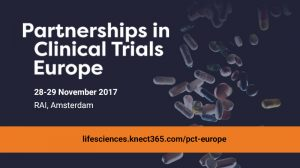 Partnerships in Clinical Trials Europe | 28-29 November 2017 | RAI, Amsterdam