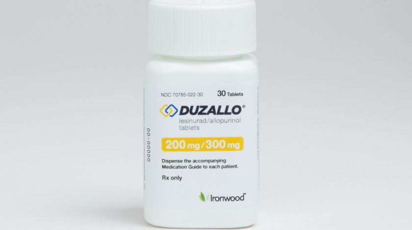 treating gout with steroids