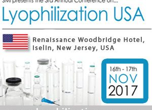 Only 4 weeks remain until SMi's 3rd annual Lyophilization USA