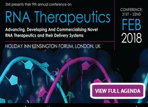 RNA Therapeutics conference will take place in just 4 weeks!