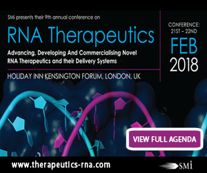 Attendee List Released for SMi's 9th Annual RNA Therapeutics
