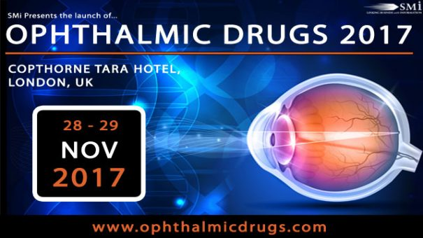 SMi's Ophthalmic Drugs Conference is only 4 weeks away!