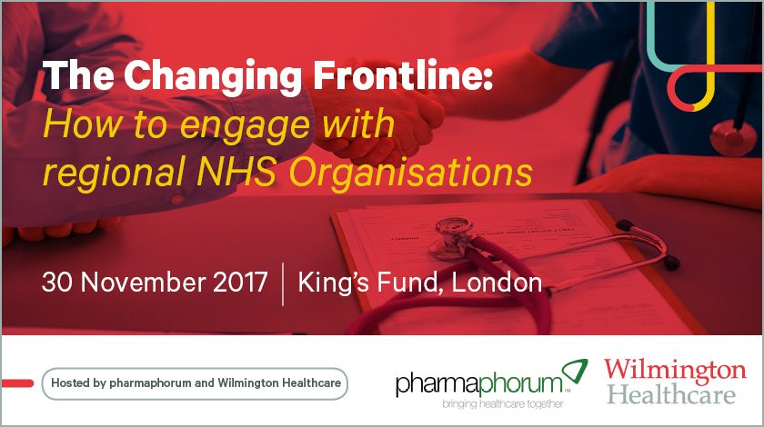 Free to attend: The changing frontline – how to engage with regional NHS organisations