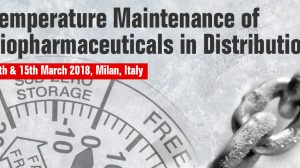 Temperature Maintenance of Biopharmaceuticals in Distribution 2018