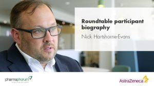 Roundtable participant biography – Nick Hartshorne-Evans