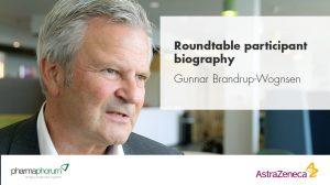 Roundtable participant biography – Gunnar Brandrup-Wognsen