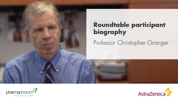Roundtable participant biography – Professor Christopher Granger