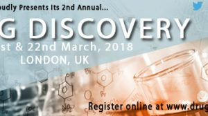 £500 special discount for Drug Discovery conference in 4 weeks' time