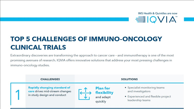 Spotlight on - The Future of Oncology Clinical Trials