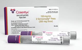 Novartis tests Cosentyx against Humira and biosimilars